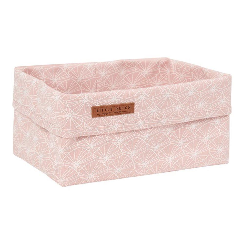 Panier de toilette grand Lily Leaves Pink