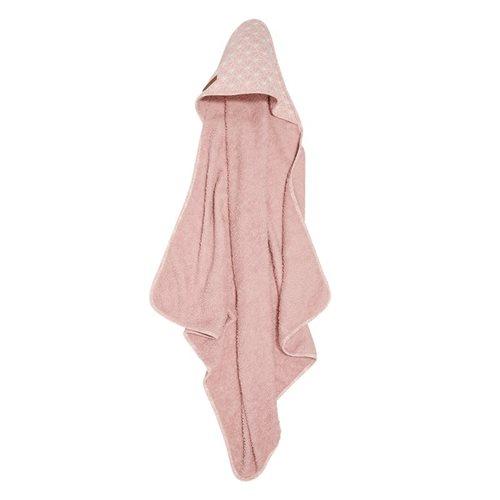 Cape de bain Lily Leaves Pink