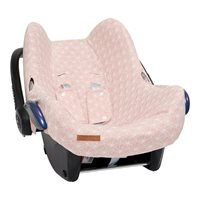 Picture of Car seat 0+ cover Lily Leaves Pink