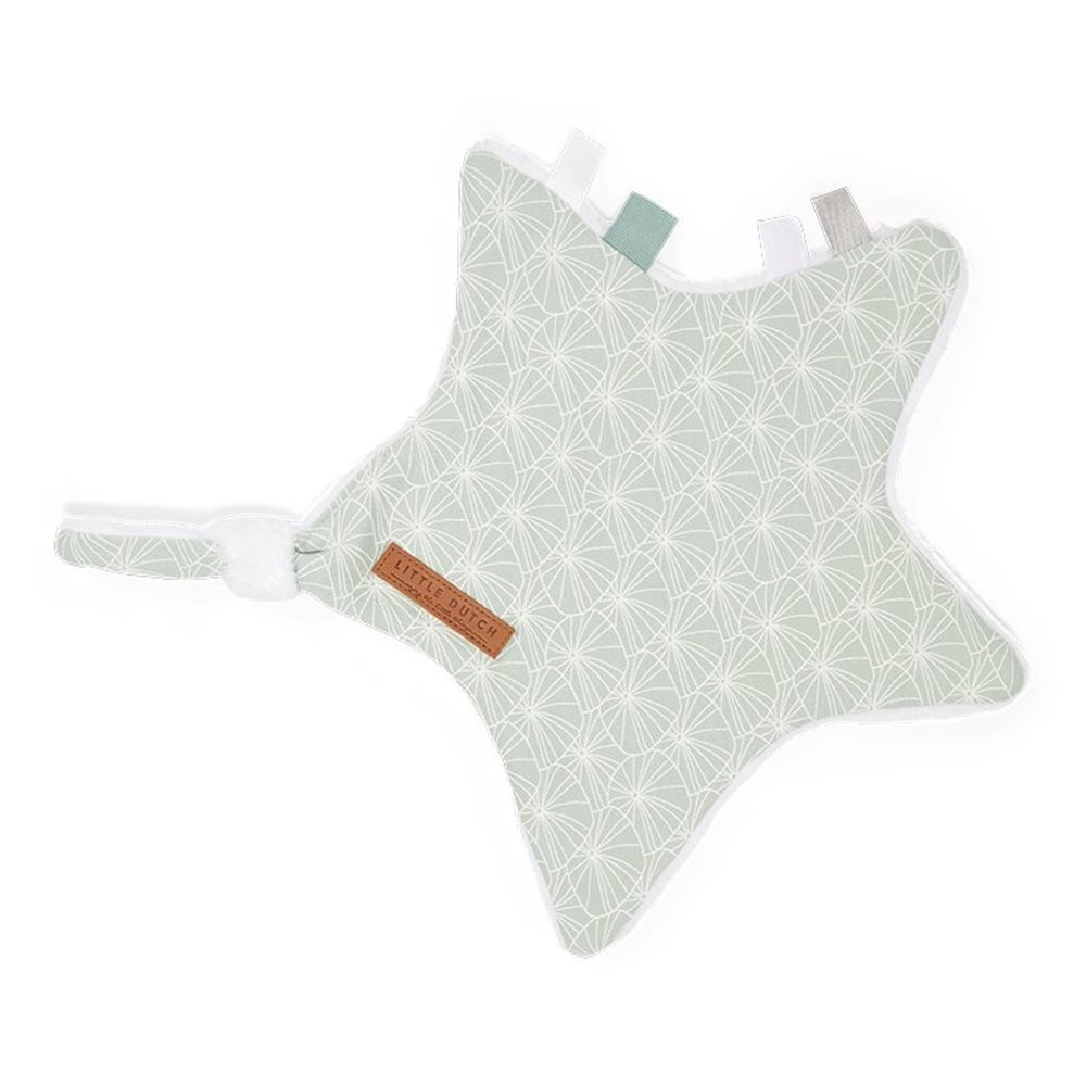 Picture of Cuddle cloth, star Lily Leaves Mint