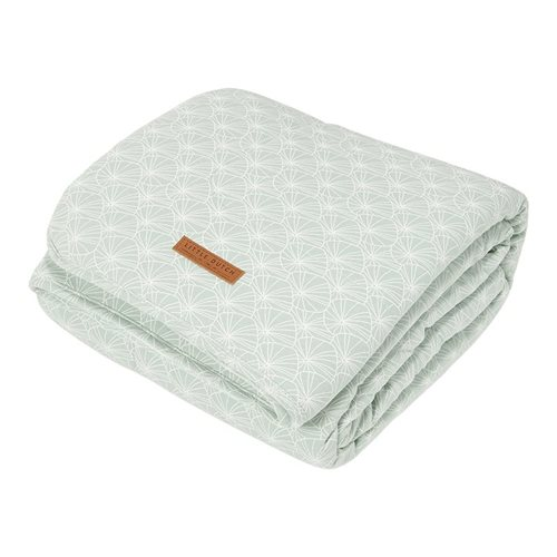 Picture of Bassinet blanket Lily Leaves Mint