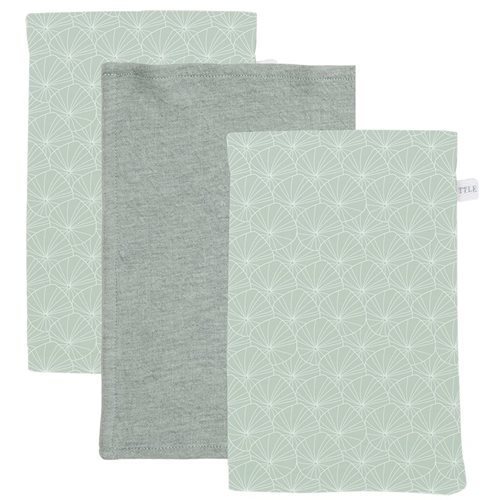 Picture of Washcloths set Lily Leaves Mint