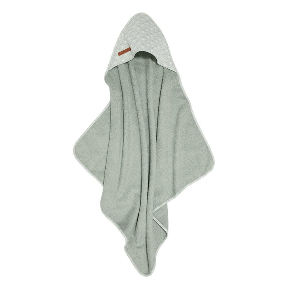Picture of Hooded towel Lily Leaves Mint