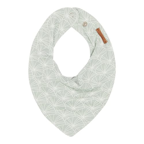 Picture of Bandana bib Lily Leaves Mint