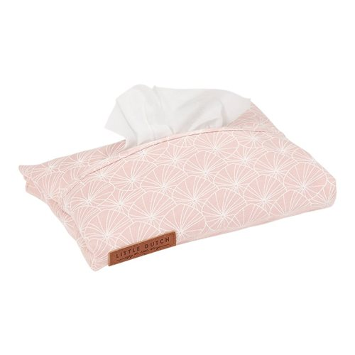 Housse pour lingettes Lily Leaves Pink