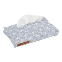 Picture of Baby wipes cover Lily Leaves Blue