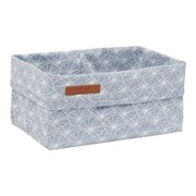 Picture of Storage basket, large Lily Leaves Blue