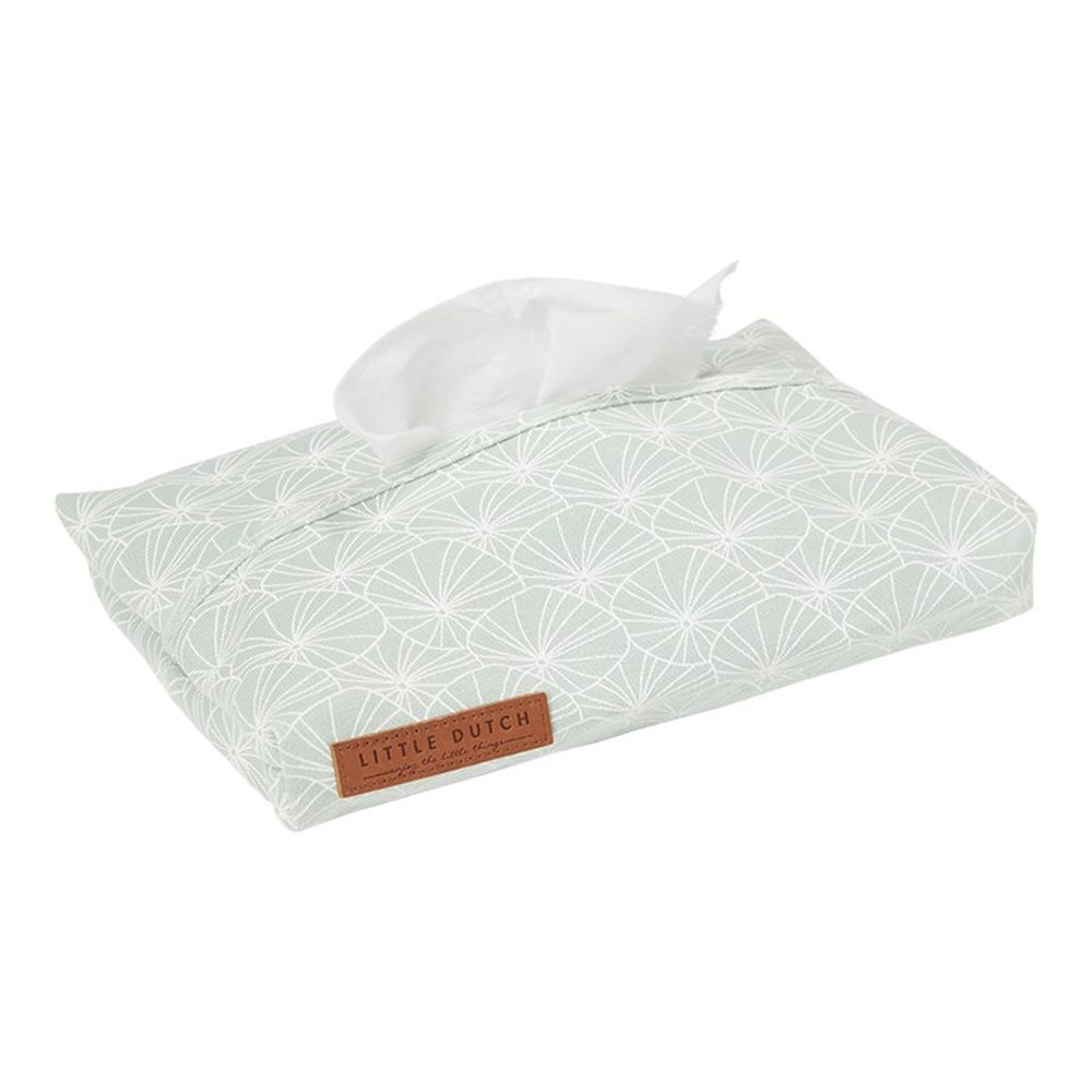 Picture of Baby wipes cover Lily Leaves Mint