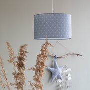 Picture of Pendant light Lily Leaves Blue