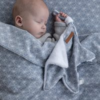 Picture of Cuddle cloth, star Lily Leaves Blue
