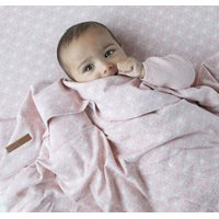 Picture of Bassinet duvet cover Lily Leaves Pink