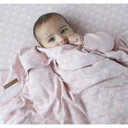 Housse de couette berceau Lily Leaves Pink