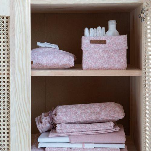 Wärmflaschenbezug Lily Leaves Pink