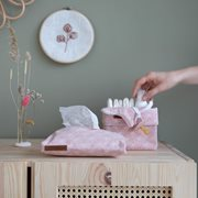 Picture of Baby wipes cover Lily Leaves Pink