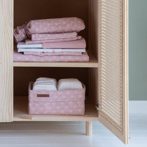 Afbeelding van Commodemandje groot Lily Leaves Pink