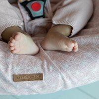 Babyschalen-Bezug 0+ Lily Leaves Pink