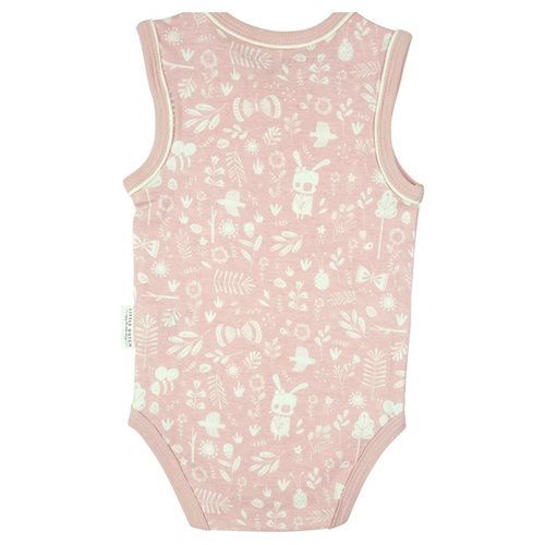 Body ohne Arm 74/80 - adventure pink