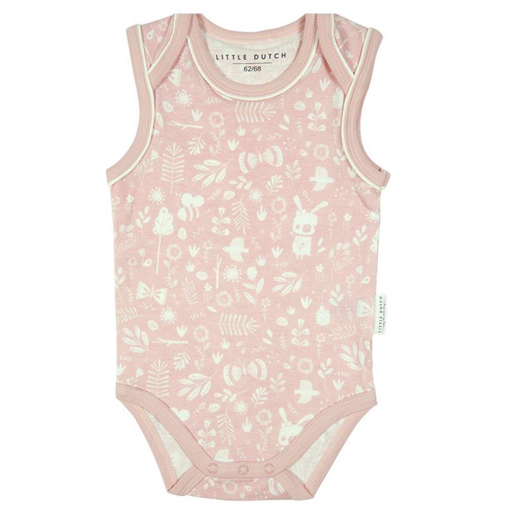 Picture of Bodysuit sleeveless 74/80 - adventure pink