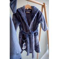 Picture of Baby bathrobe Blue 74/80 - Ocean