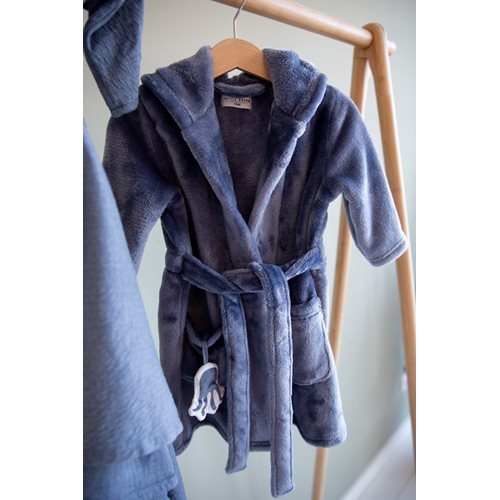 Picture of Baby bathrobe Blue 74/80 - Ocean