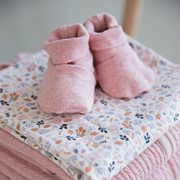 Picture of Baby booties 15/16, Pink Melange