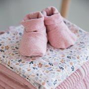 Chaussons bébé 15/16, Pink Melange