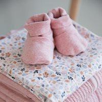 Afbeelding van Babyslofjes 17/18, Pink Melange