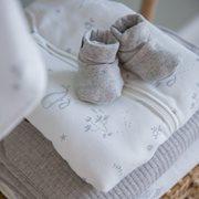 Chaussons bébé 15/16, Grey Melange