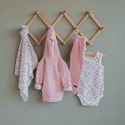 Pantalon bébé 56 - Pink Melange