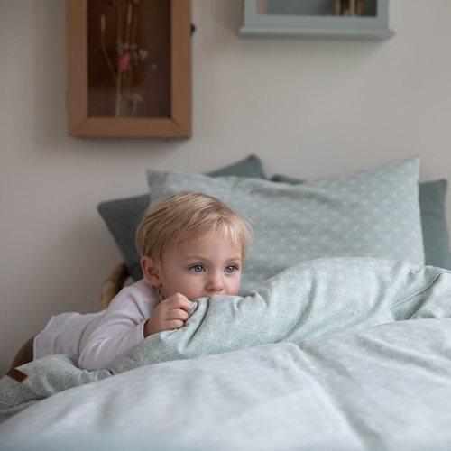 Kinderbettbezug Lily Leaves Mint