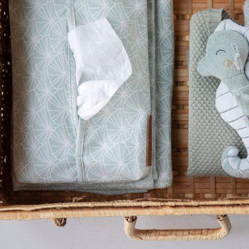 Afbeelding van Babydoekjeshoes Lily Leaves Mint