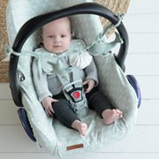 Picture of Car seat 0+ cover Lily Leaves Mint