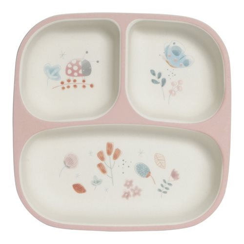 Picture of Bamboo plate pink