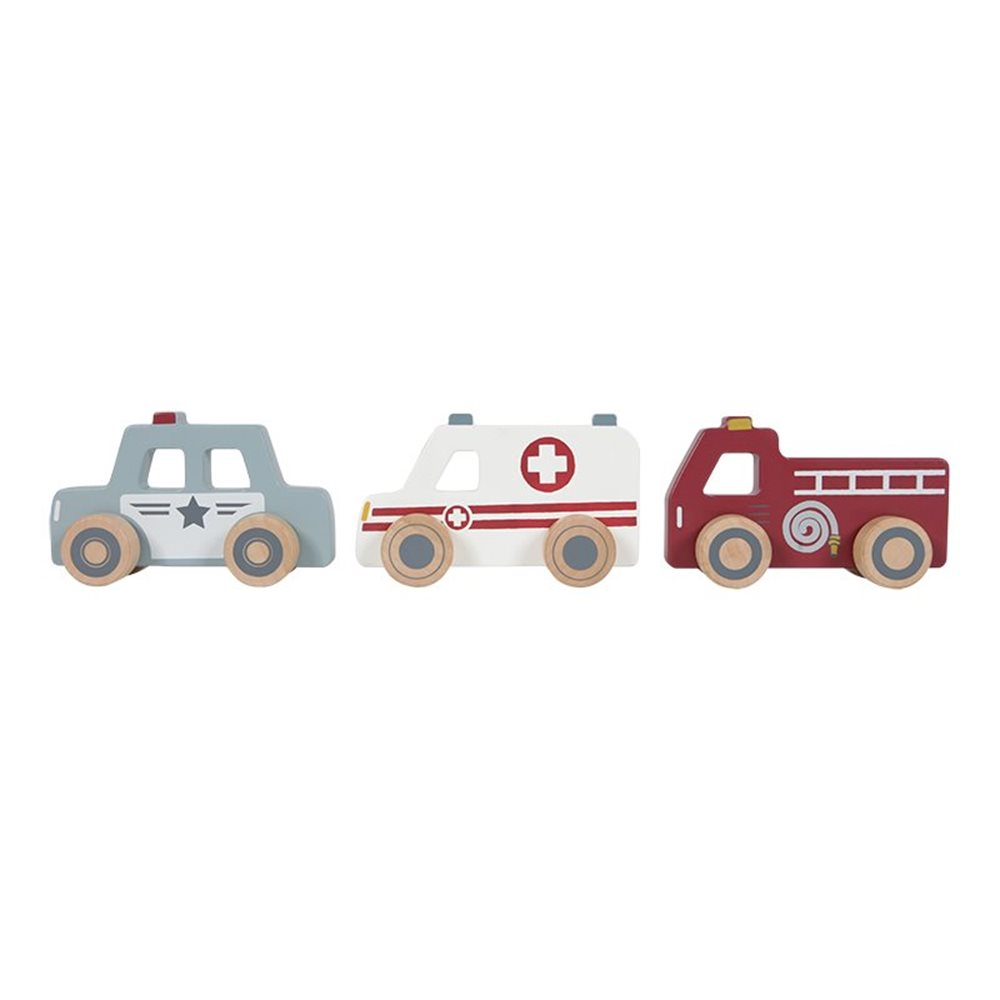 Picture of Emergency services vehicles