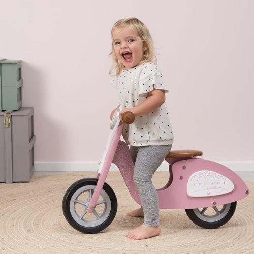 Laufrad Roller rosa