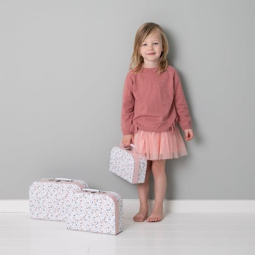 Picture of Children's suitcase set Spring Flowers - set of 3