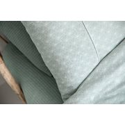 Picture of Cot duvet cover Lily Leaves Mint