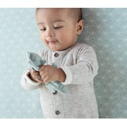 Picture of Fitted bassinet sheet Lily Leaves Mint