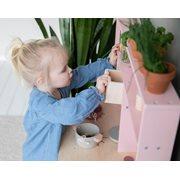 Cuisine enfant rose