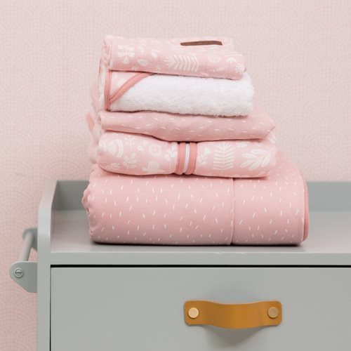 Picture of Cot duvet cover Adventure Pink