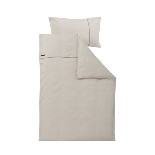 Picture of Single duvet cover Germany Beige Waves