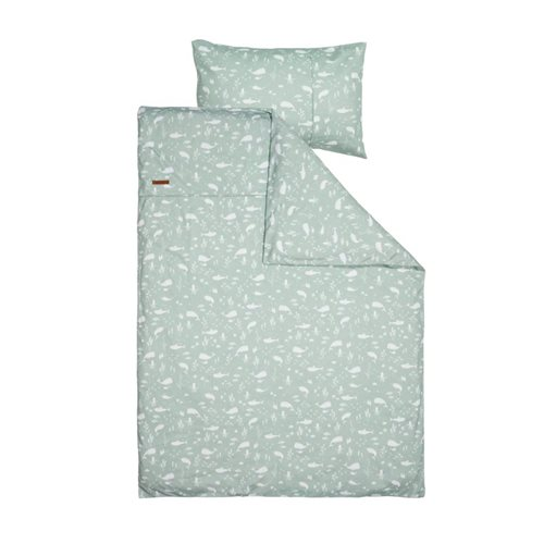 Picture of Cot duvet cover Ocean Mint