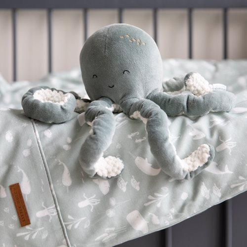 Housse de couette lit bébé Ocean Mint