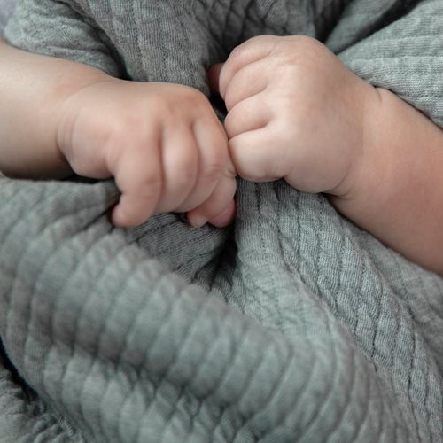 Housse de couette lit bébé Pure Mint