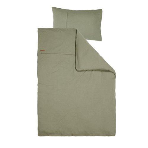 Kinderbettbezug Pure Olive