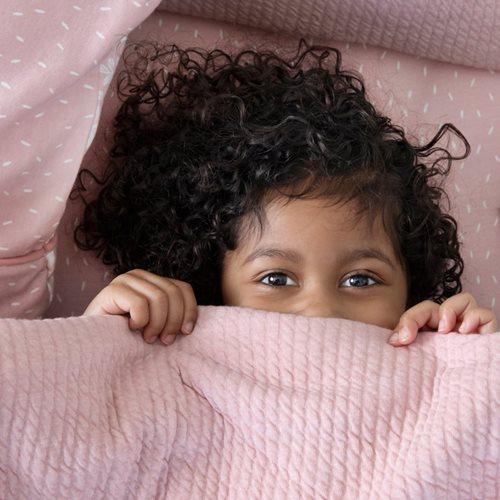 Housse de couette lit bébé Pure Pink