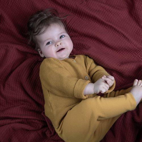 Housse de couette lit bébé Pure Indian Red
