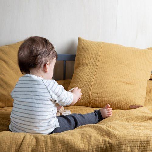 Kinderbettbezug Pure Ochre