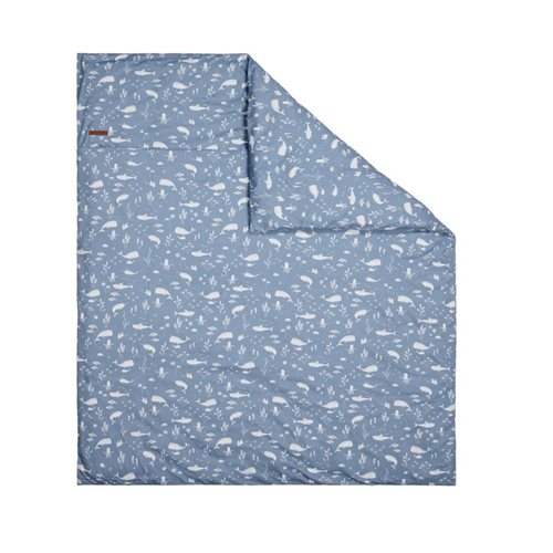 Picture of Bassinet duvet cover Ocean Blue