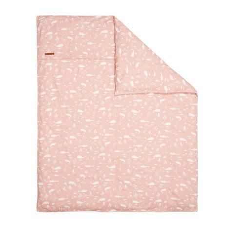 Bezug für Wiegedecke Ocean Pink